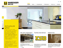 Tablet Preview of habeggerbau.ch